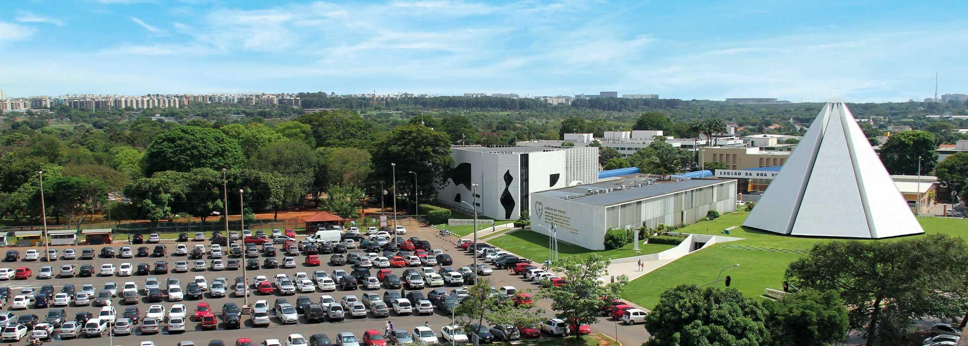 Templo da Boa Vontade - Brasília, DF