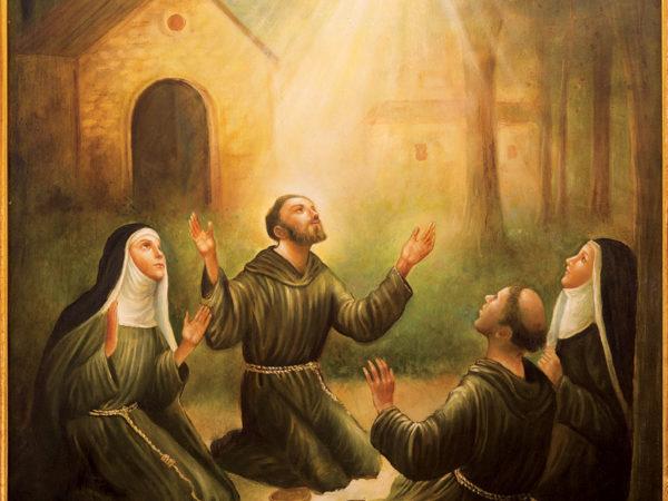 Celebre o 4 de outubro, Dia de São Francisco de Assis,  Santo do Ecumenismo e Patrono da LBV