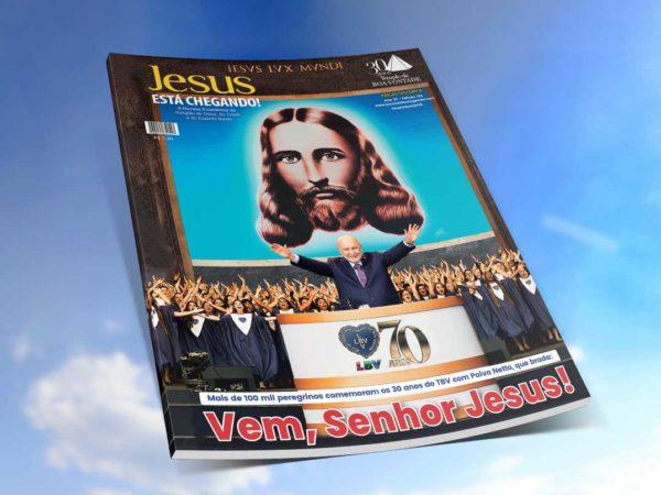 Religião Divina lança edição 135 da revista JESUS ESTÁ CHEGANDO!