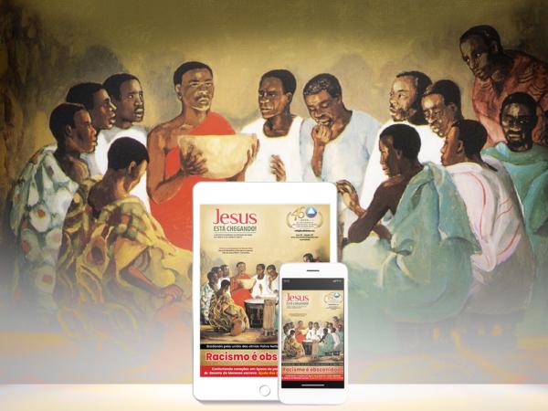 Religião Divina lança a edição 137 digital da  revista JESUS ESTÁ CHEGANDO!