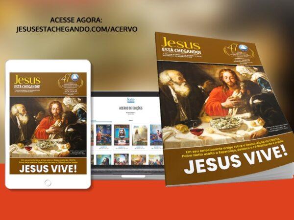 Religião do Terceiro Milênio lança a edição 146 da revista JESUS ESTÁ CHEGANDO!